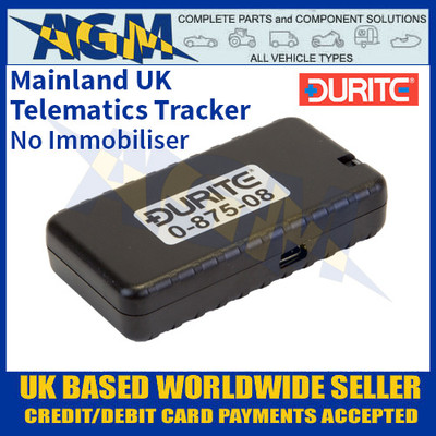 0-875-08 Durite Mainland-UK Telematics Tracker without Immobiliser