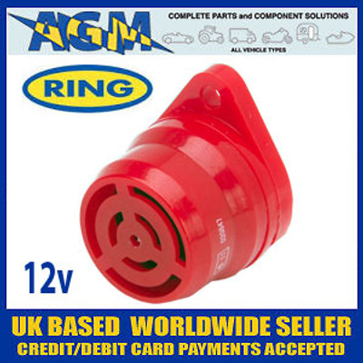 Ring RMB12 Mini Warning Buzzer Low Pressure 12 volt