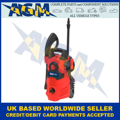Sealey PW1500, Red Pressure Washer, With TSS, 230v