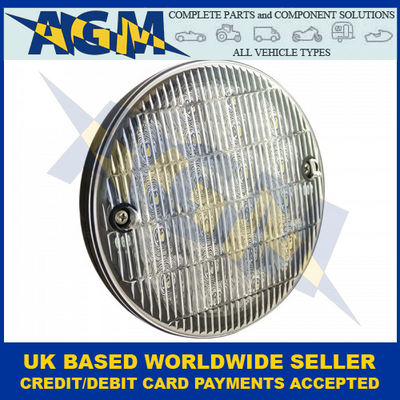 LED Autolamps HB140WM, Slimline Hamburger Reverse Lamp, 12-24 Volt