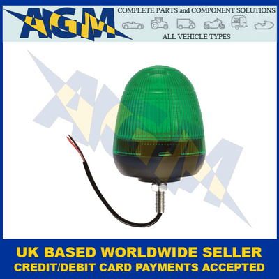 Guardian AMB74G, LED, Green Beacon, Single Bolt Fixing, 12/24v