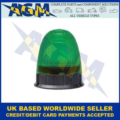 Guardian AMB75G, LED Green Beacon, Three Bolt Fixing, 12/24v