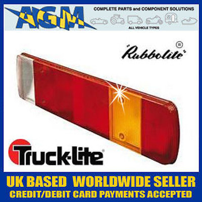 Rubbolite/Truck-Lite Genuine 80873A Lens for 461 Series Rear Lamps