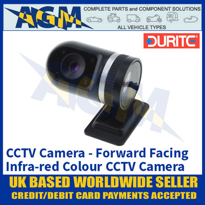 Durite 0-776-15 Forward Facing Infra-red CCTV Colour Camera with CMOS Sensor