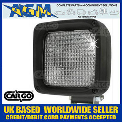Cargo 171449 Compact Single Bolt Halogen Work Lamp