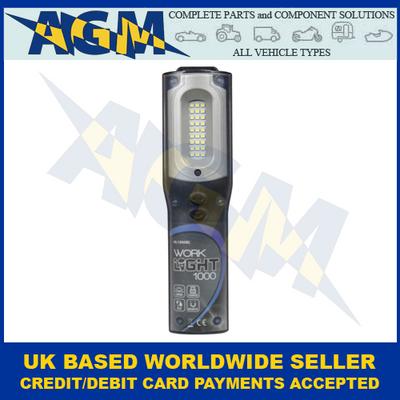 Guardian HL52U, Blue Case, LED SMD, Hand Lamp/Torch