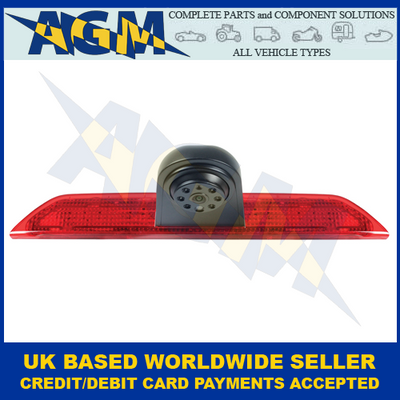 Guardian CAMF1, Ford Transit, High Level, Brake Light Reversing Camera