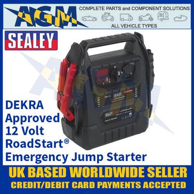 Sealey RoadStart® Emergency Jump Starter 12V 2300 Peak Amps - DEKRA Approved