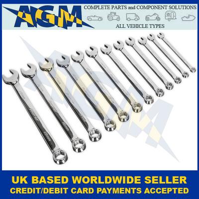 Sealey Premier Range, AK63925, Combination Metric 12 Piece Spanner Set