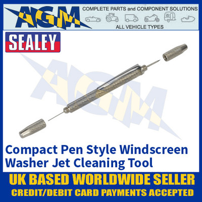 Sealey AK52206 Compact Pen Style Windscreen Washer Jet Cleaning Tool