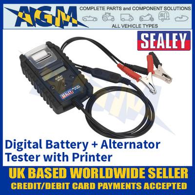 Sealey BT2014 Professional Digital Battery & Alternator Tester with Printer