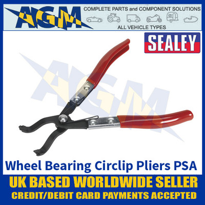 Sealey VS7040 Wheel Bearing Circlip Pliers - PSA - Citroen, Peugeot, Renault, Toyota