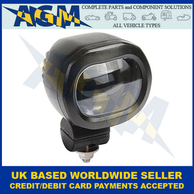Led Autolamps 62RP6BM, Red Perimeter Line, Forklift Safety Work Lamp