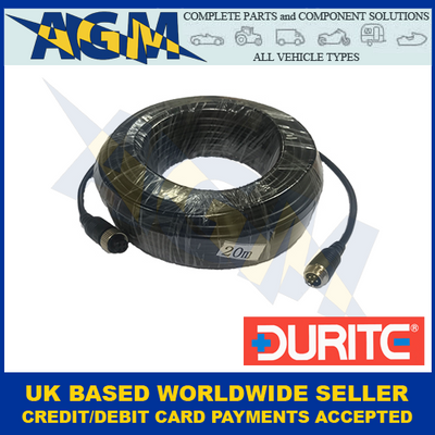 Durite 0-775-19, 20 Metre Screened CCTV Camera to Monitor Cable