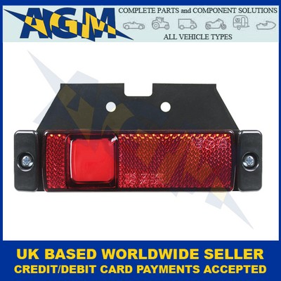 Guardian Automotive ML102R, Red LED Rear Marker With Neon Effect, 12-24v
