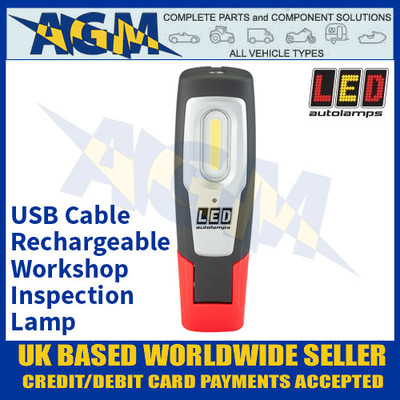 LED Autolamps HH190 USB Rechargeable Workshop Inspection Lamp
