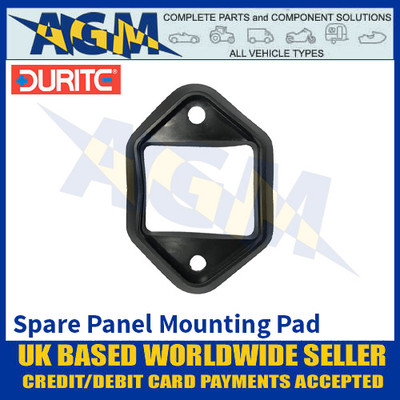Durite 0-383-98 Spare Panel Mount Pad for Durite Circuit Breakers