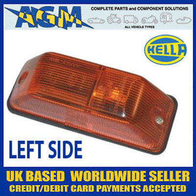 Hella Side Repeater Flasher Lamp, LEFT fits Mercedes Sprinter