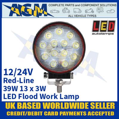 LED Autolamps RL12039BM LED Flood/Work Lamp 39W - 13 x 3W LED's