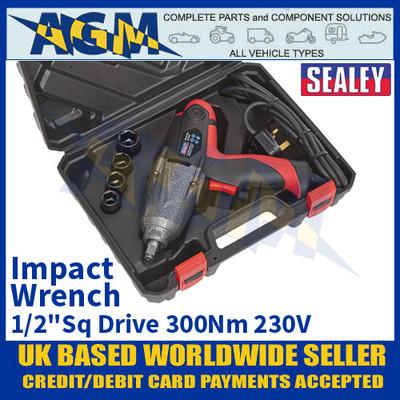 "Sealey IW230V Impact Wrench 1/2""Sq Drive 300Nm 230V"