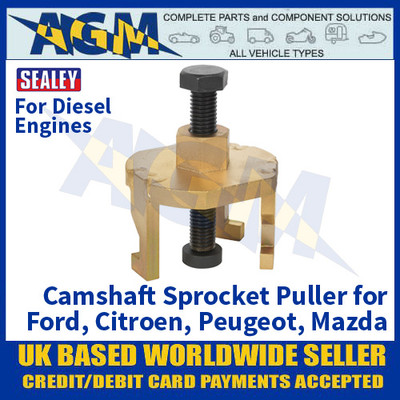 Camshaft Sprocket Puller - Ford, Citroen, Peugeot, Mazda Diesel Engines