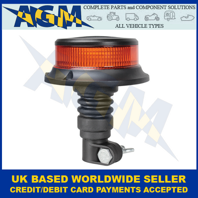 Guardian AMB927, Compact, Amber, Flexible Spigot Mount, Led, Beacon
