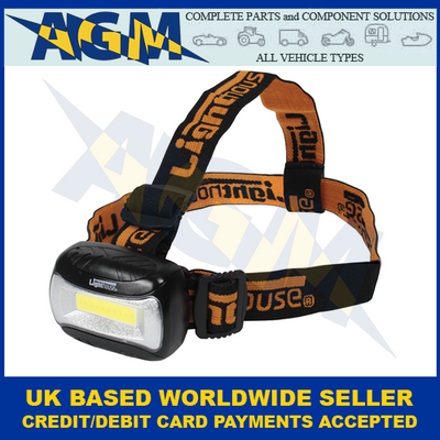Guardian Lighthouse HT6, COB LED, Hands-Free, Head torch