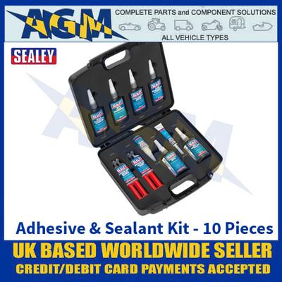 Sealey SCSKIT1 Adhesive & Sealant Kit 10pc
