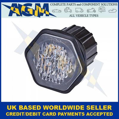 LED Autolamps, HALED6DVAR65, R65, 6 LED, Hide Away, Amber Warning Module, 12/24v
