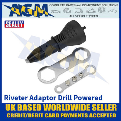 Sealey DRA01 Riveter Adaptor Drill Powered