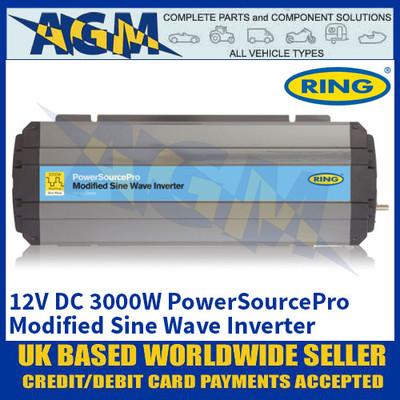 Ring RINVMA30 12V DC 3000W PowerSourcePro Modified Sine Wave Inverter