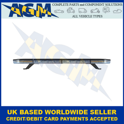 Led Autolamps EQBT862R65A-EO, Amber, 862mm, LED Lightbar, R65, Illuminated Ends
