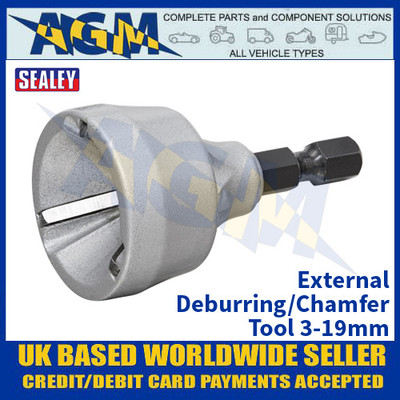 Sealey DB04 External Deburring/Chamfer Tool 3-19mm