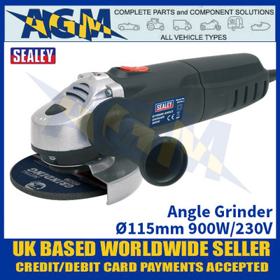 Sealey SG115 Angle Grinder Ø115mm 900W/230V