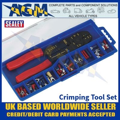 Sealey S0536 Crimping Tool Set