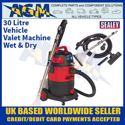 Sealey VMA914 Valet Machine Wet & Dry 30 Litre