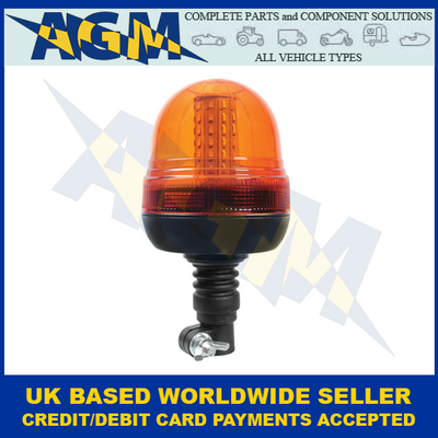 Guardian AMB93, R10, Spigot Mount Fixing, Multi-purpose, LED Beacon, 12/24v