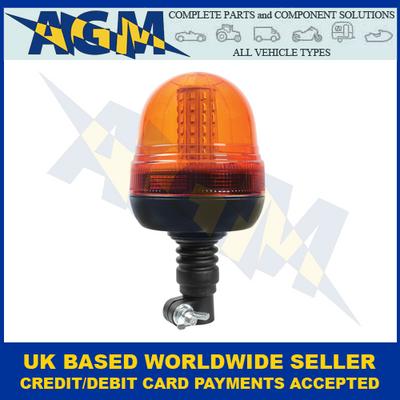 Guardian AMB93, R10, Spigot Mount Fixing, Multi-purpose, LED Beacon, 12/24v