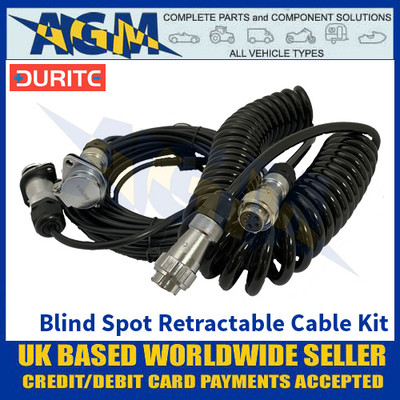 Durite 0-870-95 Blind Spot Detection Retractable Cable Kit
