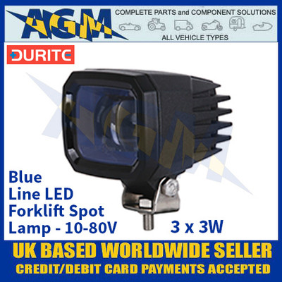 Durite 0-420-49 Blue Line LED Spot Lamp - 3x3W 10-80V