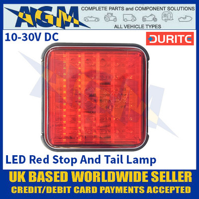 Durite 0-294-30 LED Red Stop And Tail Lamp - 10-30VDC