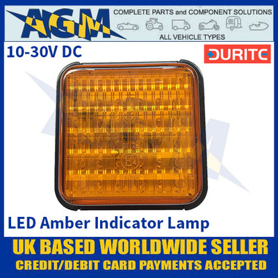Durite 0-294-31 LED Amber Indicator Lamp - 10-30VDC