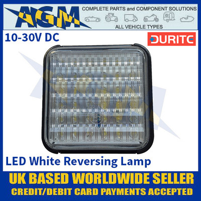 Durite 0-294-33 LED White Reversing Lamp - 10-30VDC