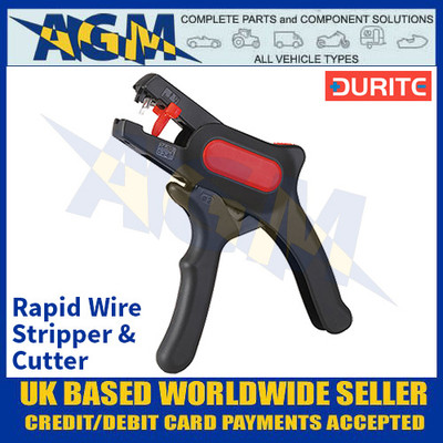 Durite 0-704-15 Rapid Wire Stripper and Cutte