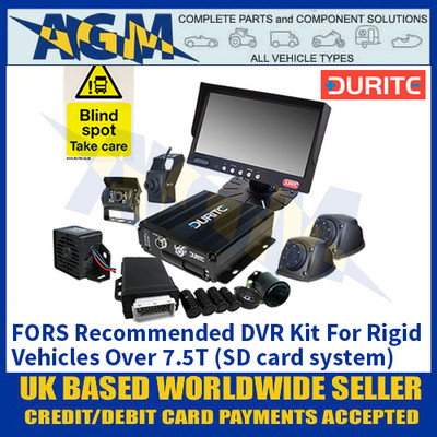 Durite 4-776-51 FORS Recommended DVR Kit For Rigid Vehicles Over 7.5T