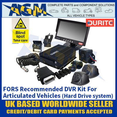 Durite 4-776-54 FORS Recommended DVR Kit For Articulated Vehicles (Hard Drive system)
