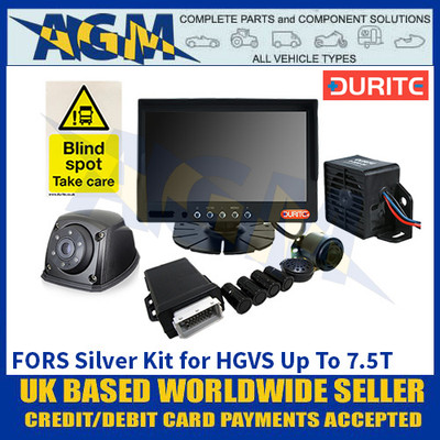 Durite 4-776-55 FORS Silver Kit for HGVS Up To 7.5T