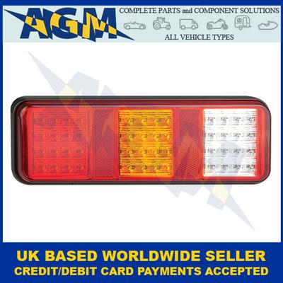LED Autolamps 283WARM, Triple Combination Lamp, (w/ Reverse), 12/24V