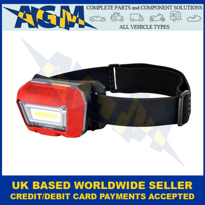 LED Autolamps HT70, USB, Rechargeable, Head Torch