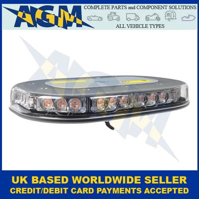 Guardian AMB204 Low Profile Single-Bolt R65 LED Light Bar 12/24V